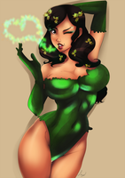 [C] Jessy as Poison ivy by lufidelis
