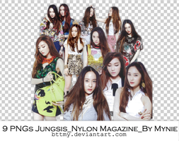 9 PNGs_Jungsis_Nylon Magazine_ by Mynie by bttmy