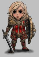 Chibi Knight Lion Armour v 4 by DeadArmour