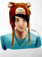 Youtuber~ Danisnotonfire by xBeyondTheGalaxies