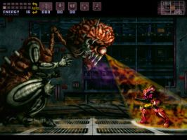 Super Metroid: Final Boss SD by Billysan291