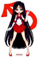 Sailor Mars by silviarip
