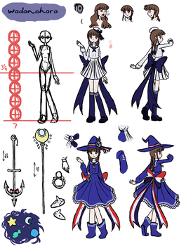 Wadanohara Reference by E-Domino