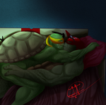 AT: Raph x Mikey by XxLevanaxX
