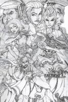 Final fantasy X-2 by milos123