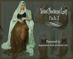 Veiled Nouveau Lady Pack 2 by themuseslibrary
