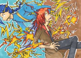 CM: Fire and Lightning by goofanader