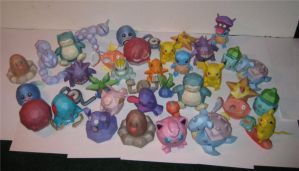 A Plethora of Pokedolls by TouchFuzzyGetDizzy
