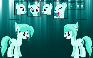 Diamond Dust's Official Reference Sheet by FrozenStrike