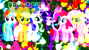 Friendship Title Card Wallpaper by EnemyD