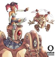 Mechanical rides by MabaProduct