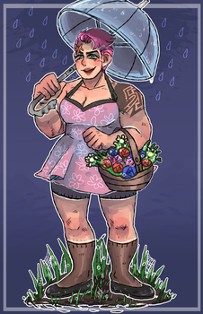 Zarya and Rain by Quite-Lovely-Puzzles