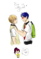 Rei - do you know what oblivious means? by Ta-moe