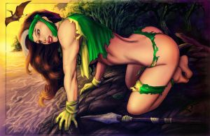 savage land Rogue by PrinceofUkraine