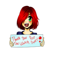 Thank you for the watch, dear! by Apple--Queen