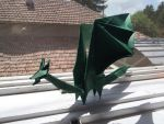 Origami Simple Dragon by Mihaela7