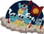 Squirtle Squad by hPhyre
