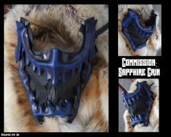 Commission: Sapphire Grin by Epic-Leather