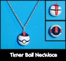 Timer Ball Necklace Charm by YellerCrakka