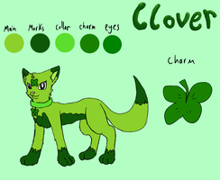 Clover: New ref by Rika-of-Thunder