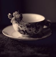 flower teacup by sayra