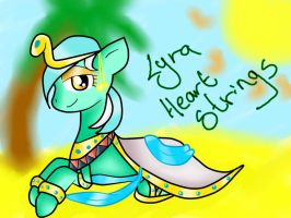 Lyra HeartStrings: the anceint queen of eygpt by voidless-rogue