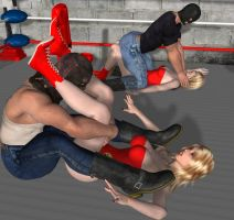 mixed wrestling 55 by cattle6