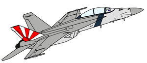 Dil the F/A-18 Super Hornet by Der-Buchstabe-R