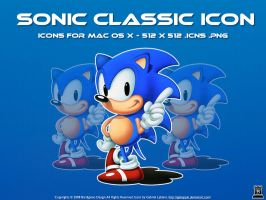 Sonic Classic Icons by igabapple