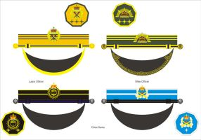 Aquilaan Army Junior Officer and O R Cap Bands by Ienkoron