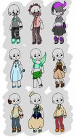 [CLOSED] Clothing Adopts by This-Is-Dupree