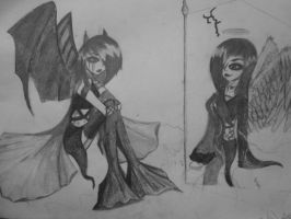 The other side of me(old art project) by Rainnarules01