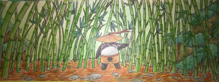 In The Bamboo by Cat-Noodles