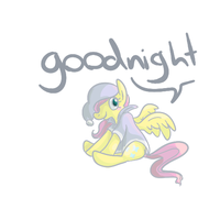 Nightcap Fluttershy by PonyGoggles
