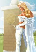 Emma Frost The White Queen by OzWonderland