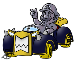 Metal Mario's Pay Dirt by The-PaperNES-Guy