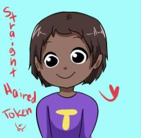 straight haired token C: by SouthParkFantasy