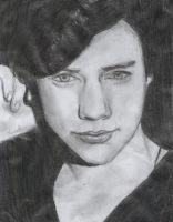 Harry Styles drawing. by Bluecknight