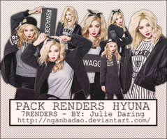 [Pack PNG #106] HYUNA by nganbadao
