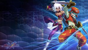 .hack Wallpaper: Project X Zone by shirotsuki-hack