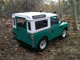 Series 3 Land Rover rear by vash68