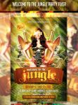Welcome to the Jungle Safari Party Flyer by AddictedToLucid