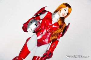 Pepper Potts Rescue Armor Mark 1616 Cosplay by VampBeauty