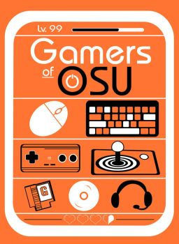 Gamers of OSU T-Shirt Design by JNinja4