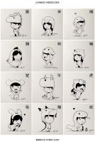 Chinese Zodiac by hjstory