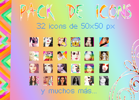pack icons 50x50 by mileylovesopure