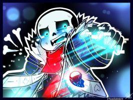 Less!Sans : '' Don't Make Me Do This To You !! '' by Twinklii