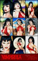 Vampirella Cards -Licensed- by AstroVisionary