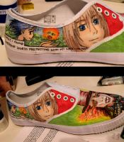 Howl's Moving Castle Shoes by StaticSkies