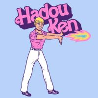 Hadou Ken by HillaryWhiteRabbit